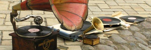 Old Grammophone