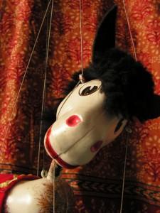 Pferde-Marionette